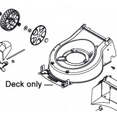 AL-KO Lawnmower Deck Housing (Side Discharge) 47058040