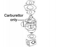 AL-KO Tech 120 Engine Carburettor 480198
