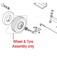 AL-KO Tractor Wheel & Tyre Assembly 52185040