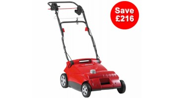 AL-KO Powerline 3600VE Electric Lawn Scarifier With Collector
