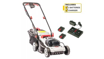 AL-KO Easy Flex 34.8 Li Cordless Lawnmower with 2 x Batteries and Charger