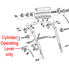 Atco Qualcast Cylinder Operating Lever F016103833