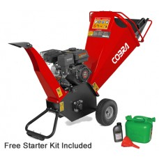 Cobra CHIP650LE Electric Start Petrol Chipper / Shredder