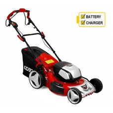 Cobra MX51S80V Self-Propelled Cordless Lawnmower (Twin Batteries and Chargers Incl)