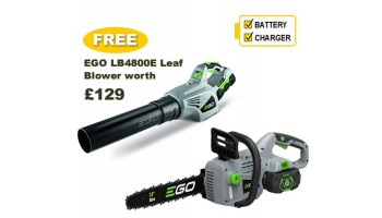 EGO Power + CS1401E Cordless Chainsaw Bundle