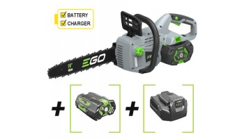 EGO Power + CS1601E 40cm Cordless Chainsaw with Battery & Charger
