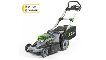 EGO Power + 20 inch Cordless Lawnmower c/w 56v battery & charger