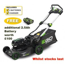 EGO Power + LM2024E-SP 50cm Self-Propelled Cordless Mower c/w Battery & Charger