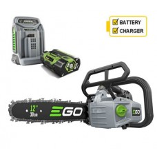 EGO Power + CSX3002 Top Handle Cordless Chainsaw with Battery and Charger