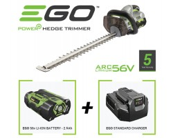 EGO Power HT2400E Cordless Hedgecutter Bundle