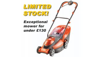 Flymo Chevron 37VC Electric Wheeled Lawn mower