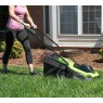 Greenworks 24v Cordless Lawnmower and Grass Trimmer Kit with 2Ah Battery and Charger