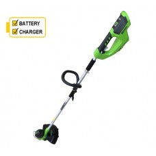 Greenworks G40LTK2 40v Cordless Line Trimmer c/w battery & charger