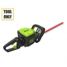 Greenworks GD60HT 60v Cordless Hedge cutter (No Battery/Charger)