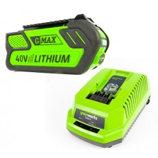 Greenworks 40v Batteries and Chargers