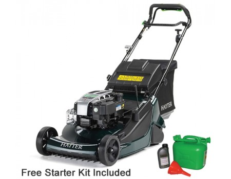 Hayter Harrier 56 Autodrive VS BBC Rear Roller Lawnmower