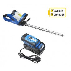 Hyundai HYHT60Li 60v Cordless Hedgetrimmer with battery and charger