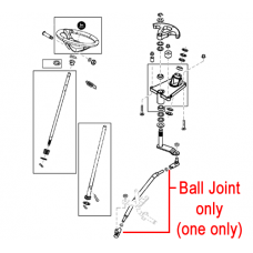 John Deere Tractor Ball Joint AM132814