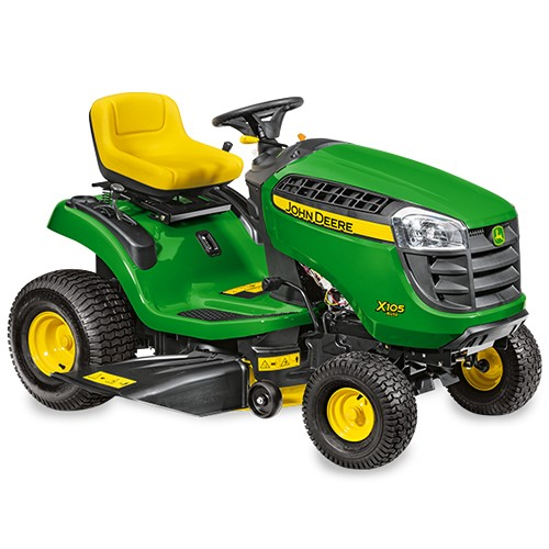 Side Picture Of Tractor : John deere side discharge lawn tractor
