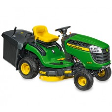 John Deere X115R Rear Collect Ride On Lawnmower
