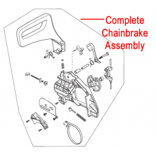 Macallister MCSP40 Chainbrake Assembly 118800948/0