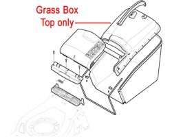 Mountfield Stiga Grass Box Top Grey 381486029/0