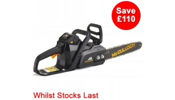 McCulloch LI40CS 40v Cordless Chainsaw with Battery & Charger