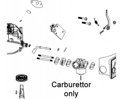 Webb Lawnmower Carburettor SA51581