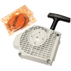 Stihl MS200T Chainsaw Fan Housing & Rewind Starter Assembly 1129 080 2105