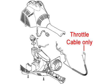Gardencare Throttle Cable B650 Backpack Blower Gc3wf 16322 additionally Stihl Throttle Cable Br350 Br430 Blowers 4244 180 1112 furthermore Stihl Kombi Brushcutter Throttle Cable 4144 182 3200 furthermore  on garden tiller throttle cable