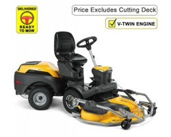 Stiga Park 700 W Series 7 Experience Twin Cylinder Front Cut Ride On Mower