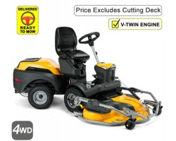 Stiga Park 700 WX Series 7 Experience 4WD Twin Front Cut Ride On Mower