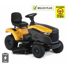 Stiga e-Ride S500 Battery Side Discharge Lawn Tractor
