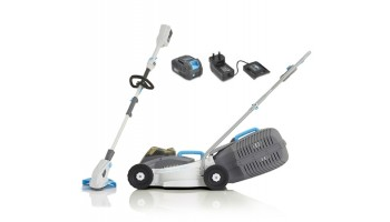 Swift 40v Compact Cordless Mower and Grass Trimmer Kit