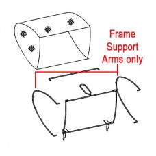 Webb WEH12R Cylinder Mower Grassbox Support Arms (Pair) TH133-61
