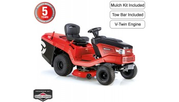 AL-KO Solo T16-105 HD V2 Rear Collect Garden Tractor