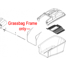 Webb R18 Lawnmower Grass Collector Frame 113-58