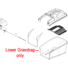 Webb R18 Lawnmower Grass Collector Bag 20050080016