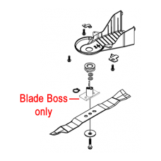 Webb R21HW Lawnmower Blade Boss WE70140410000