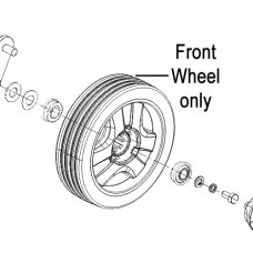 Weibang Legacy Front Wheel Assembly (Metal) WGGM56A010200000/40