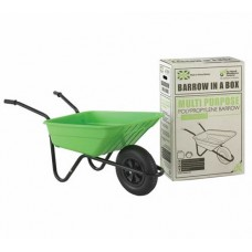 The Walsall Shire Multi-purpose 90L Barrow in a Box - Lime - BSHLIMP