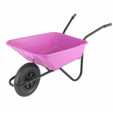 The Walsall Shire Multi-purpose 90L Barrow in a Box - Pink - BSHPINKP
