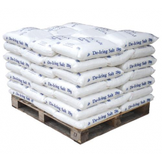 White De-Icing Salt - Pallet of 42 Large Bags