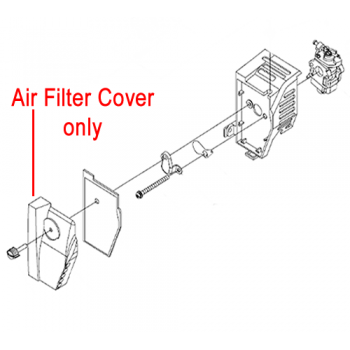 Mitox Replacement Air Filter Cover MI1E34FB.6-1