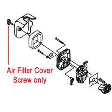 Gardencare Replacement Air Filter Cover Screw GC1E34F.1.2
