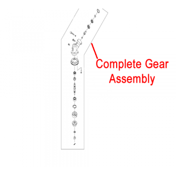 Mitox Gear Case Assembly Multi-Tool Brushcutter MICG415.3