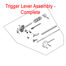 Mitox Brushcutter Trigger Lever Assembly MICG260.2