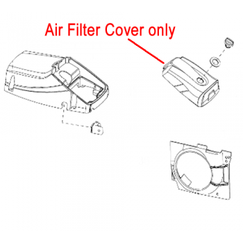 Mitox Chainsaw Air Filter Cover MIYD45-4.05.00-1
