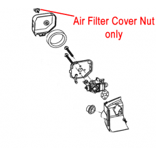 Mitox Hedgetrimmer Air Filter Cover Nut MIGJB25D.01.08.02-00