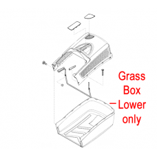 AL-KO Lawnmower Grass Box Lower 46038275